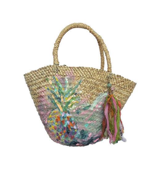 Thaikila Papagayo Ananas Beachbag