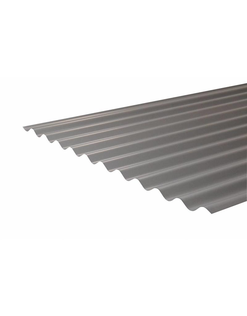 Metalen Golfplaat 76/18, RAL 9006 Blank Aluminium