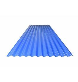 Metalen Golfplaat Gebogen, RAL 5010 Gentiaanblauw