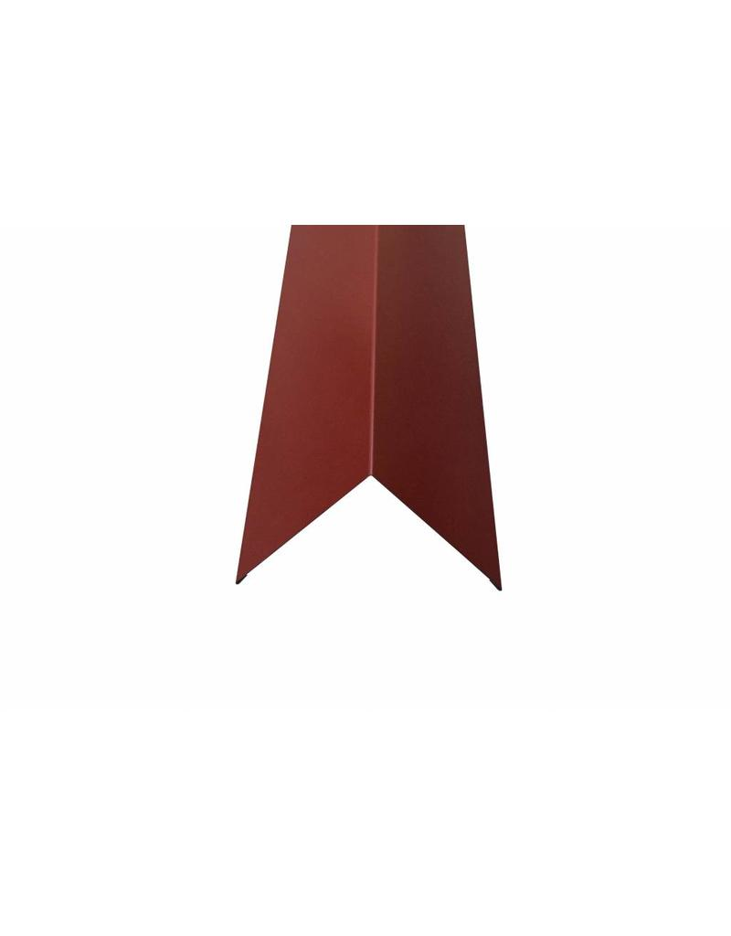 Hoekstuk, 100x100 mm RAL 3009 Oxiderood