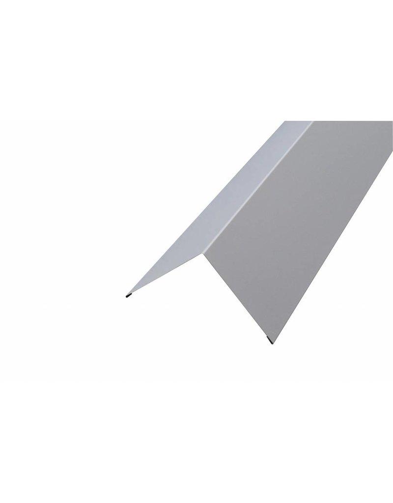 Hoekstuk, 100x100 mm RAL 7035 Lichtgrijs