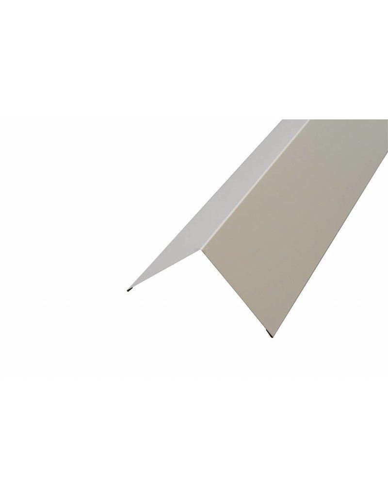 Hoekstuk, 100x100 mm RAL 1015 Licht Ivoor