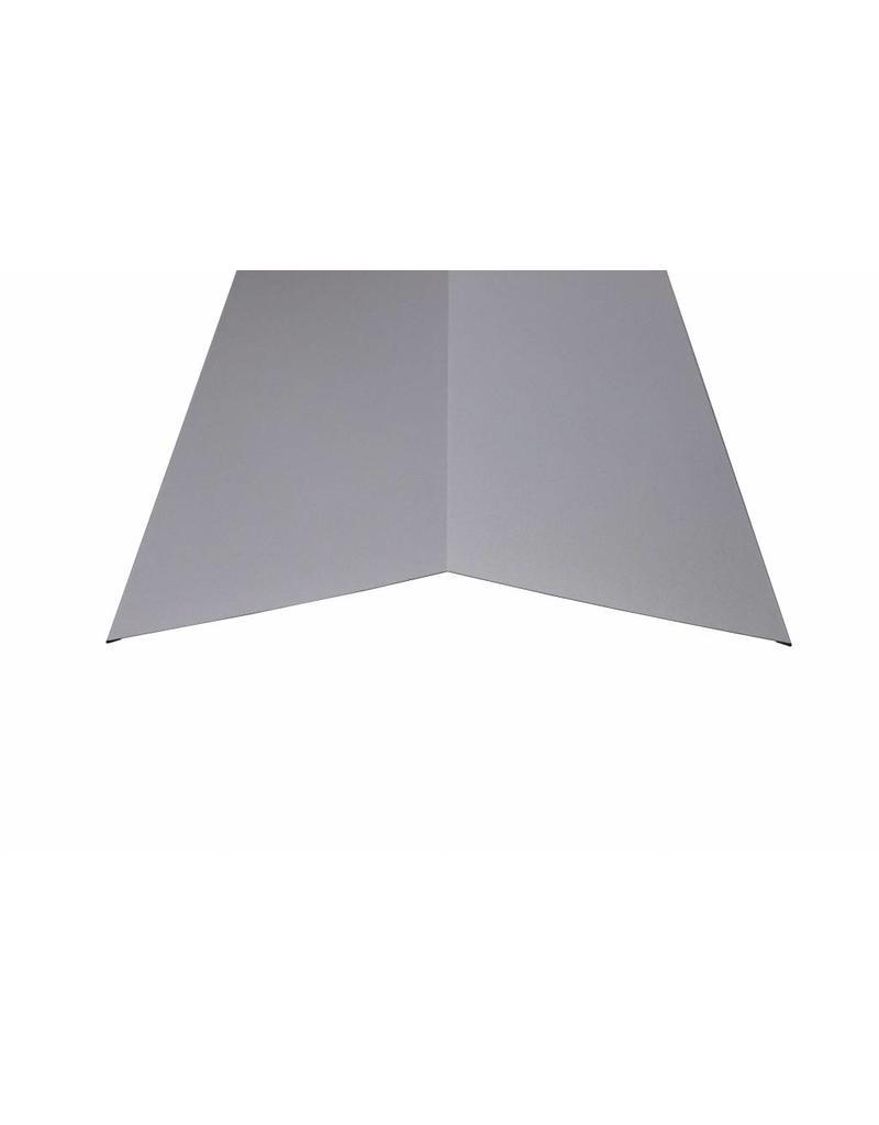 Nokstuk 200x200 mm RAL 9006 Blank Aluminium