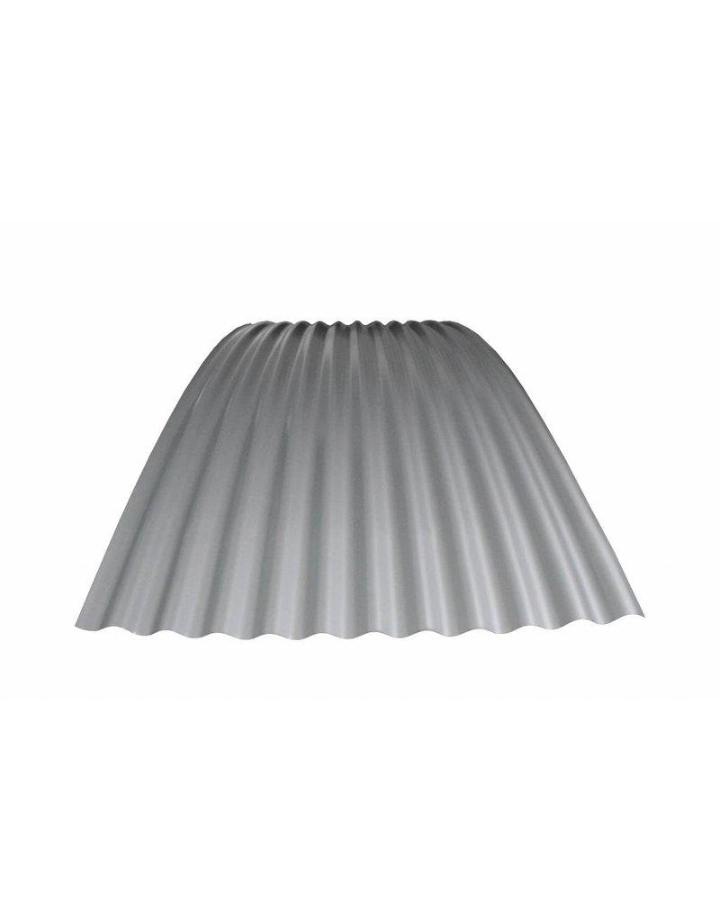 Metalen Golfplaat 76/18 Gebogen RAL 9006 Blank Aluminium