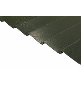 Potdeksel profielplaten Groen, standaard lengtes