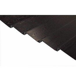 Potdeksel profielplaten Zwart, op maat gemaakt