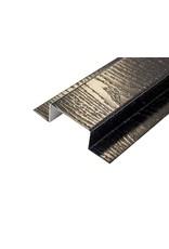 Koppelprofiel Mat Zwart, 3000 mm