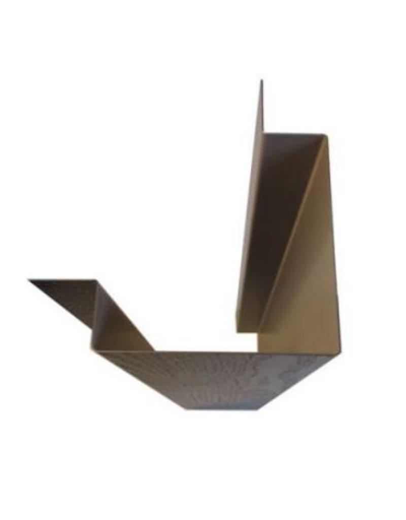 Hoekprofiel Mat Zwart, 3000 mm