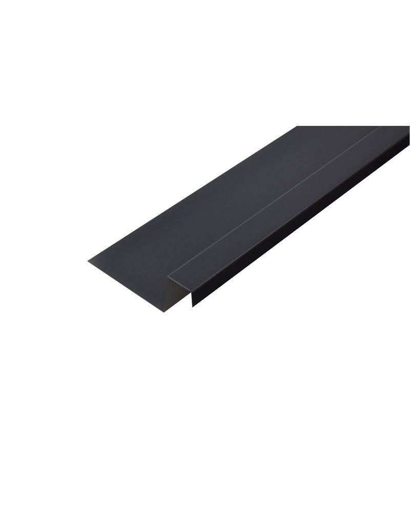 Lekdorpel, 80/40/25/15 mm, RAL 7016 Antraciet