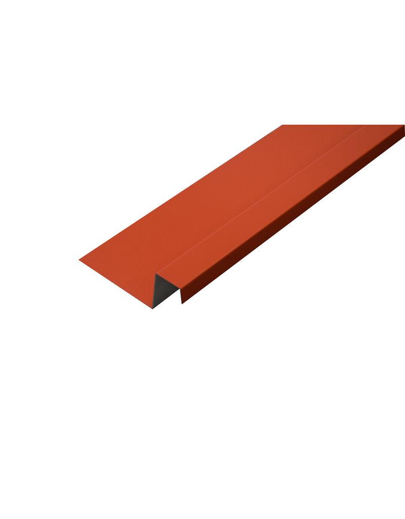 Lekdorpel, 80/40/25/15 mm, RAL 3016 Koraalrood