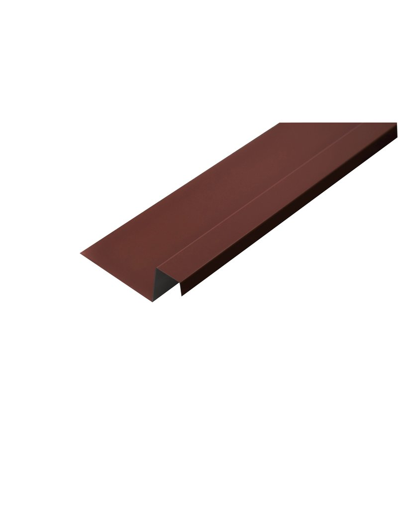 Lekdorpel, 80/40/25/15 mm, RAL 3009 Oxiderood