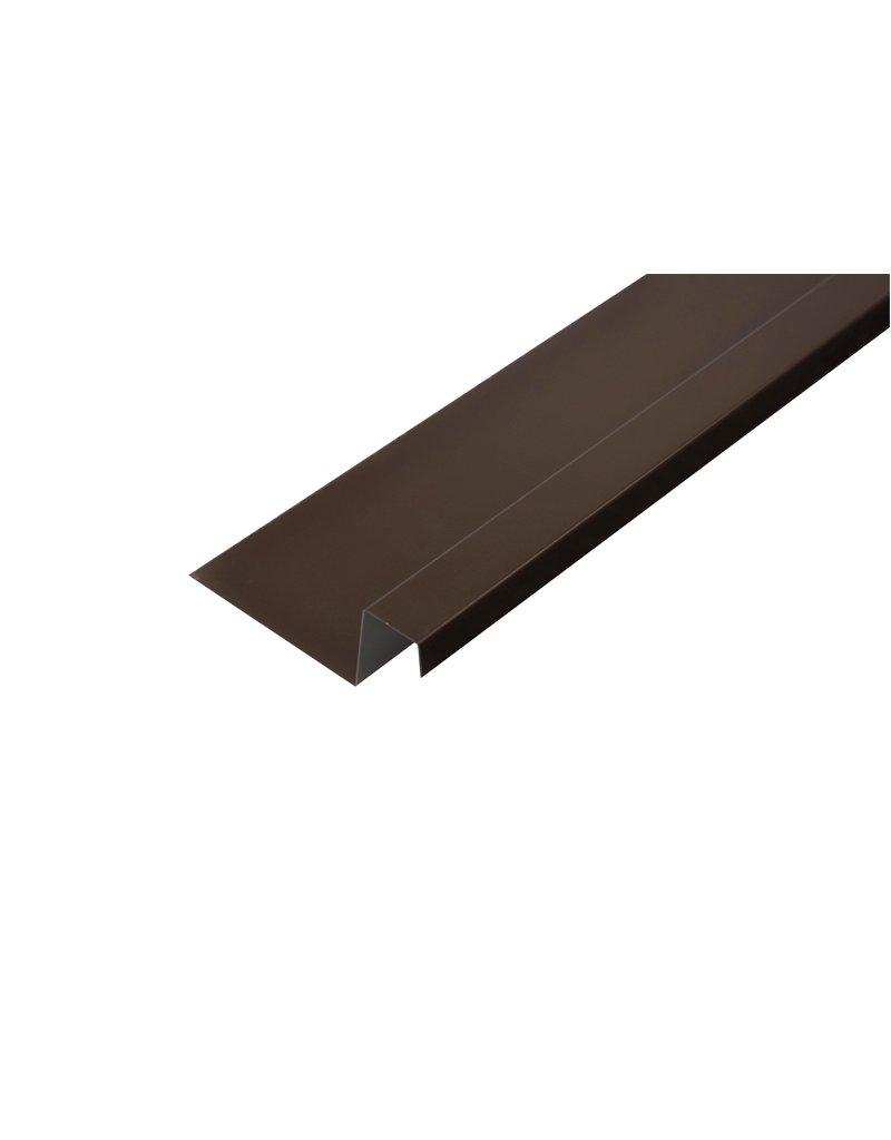Lekdorpel, 80/40/25/15 mm, RAL 8014 Sephiabruin