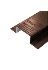 Koppelprofiel Bruin, 3000 mm