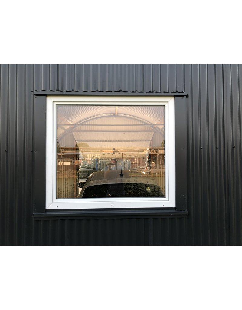 Kunststof draai/kiepraam, geïsoleerd, 1,20 x 1,05 m (BxH)
