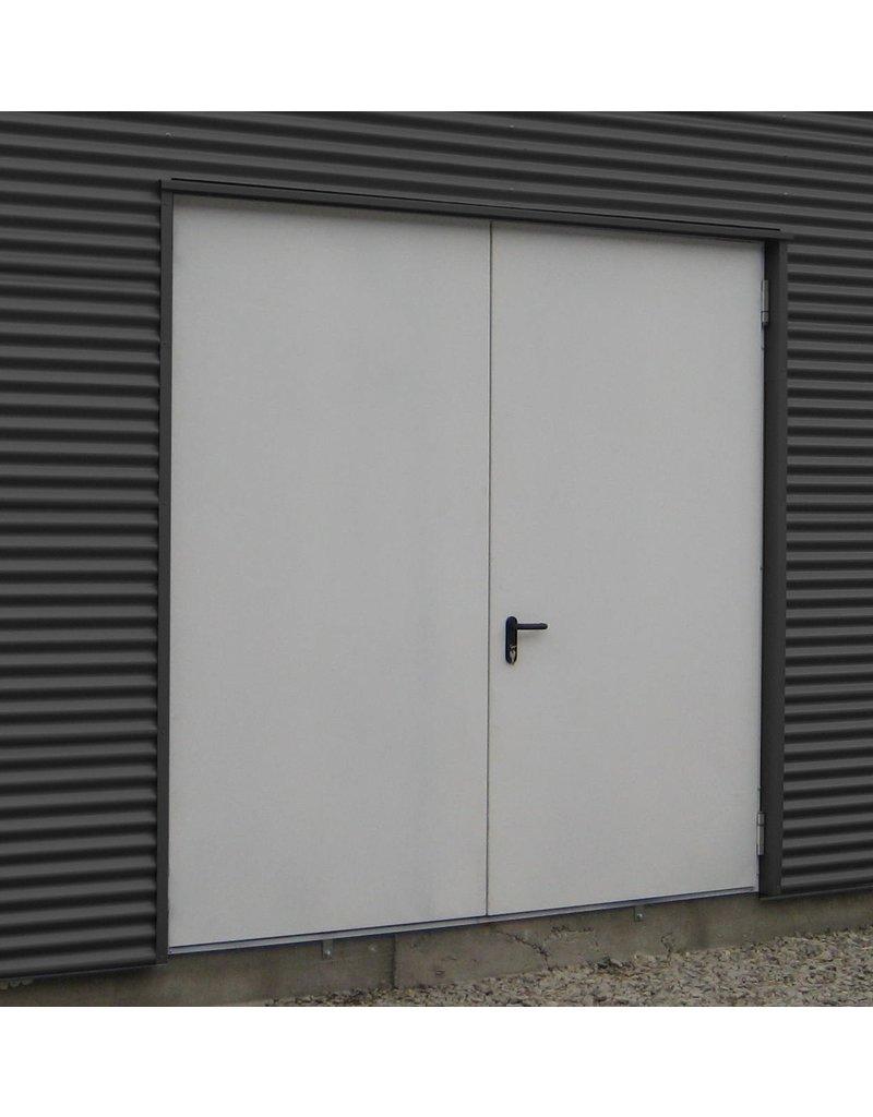 Snoei Geïsoleerde stalen MZ Deuren, RAL9016, openslaande deuren