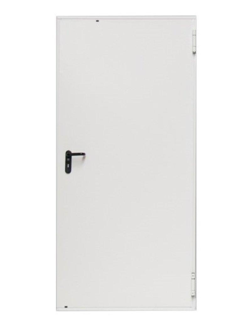 Snoei Geïsoleerde stalen MZ Deuren, RAL9016, Incl. deurbeslag