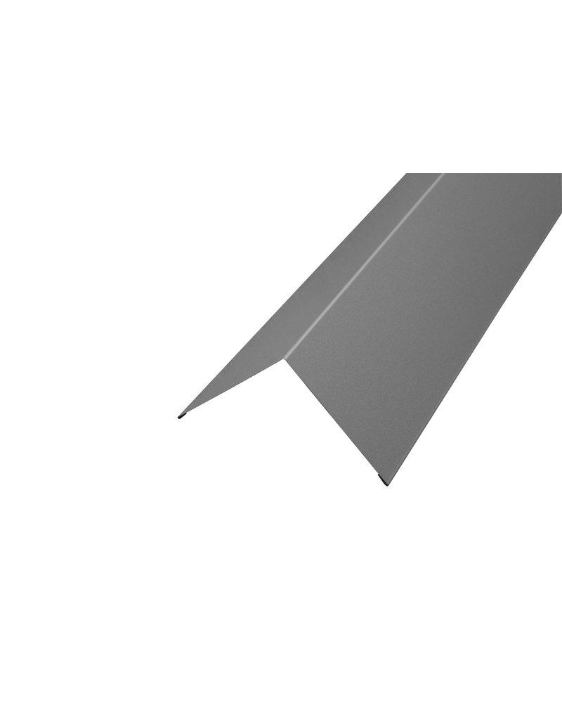 Hoekstuk, 100x100 mm RAL 9007 Grijs Aluminium