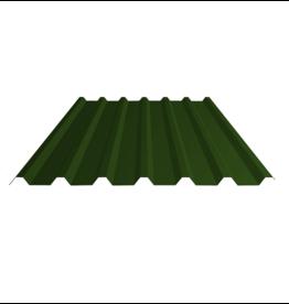 Damwandplaten Donkergroen Dak , 32/1000