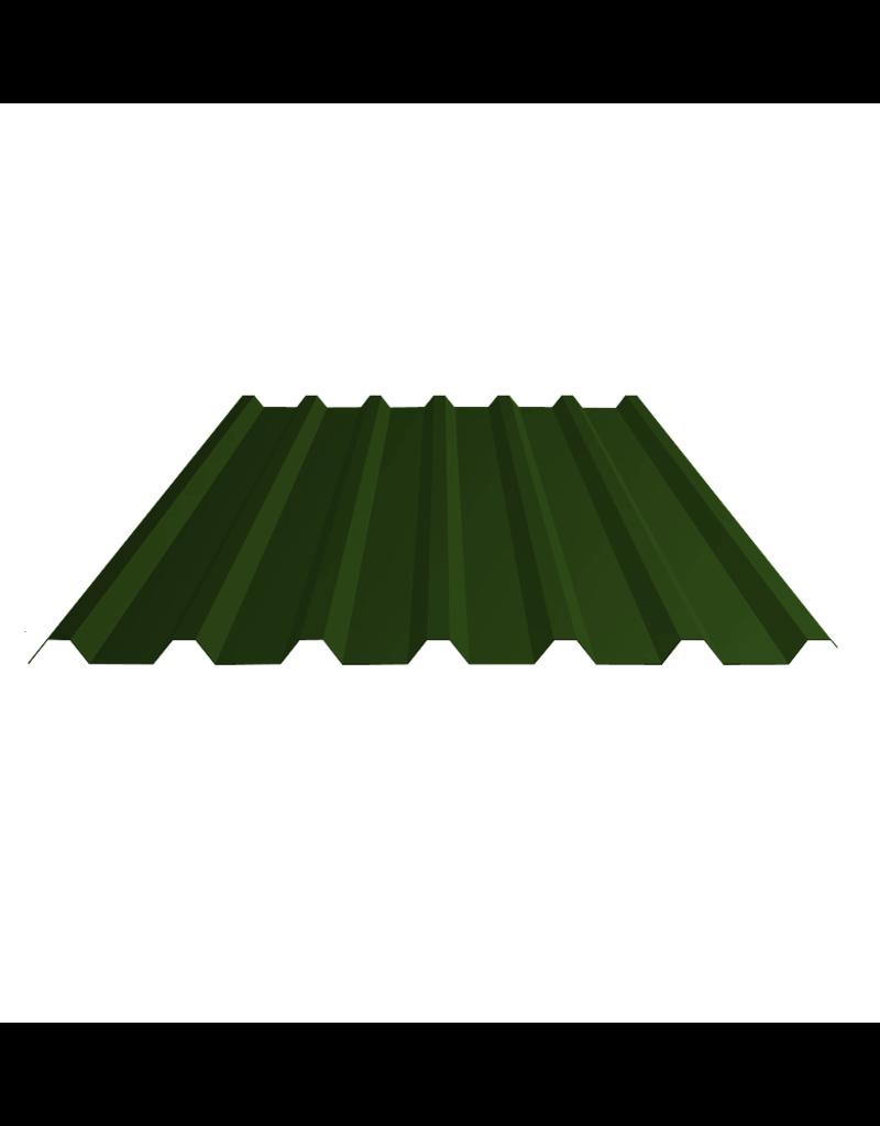 Damwandplaten Donkergroen Dak, 32/1000
