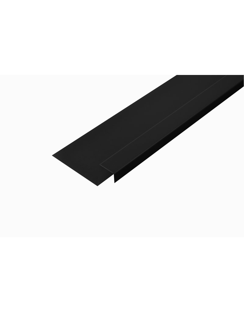 Snoei Lekdorpel, 80/40/25/15 mm, RAL 9005 Gitzwart