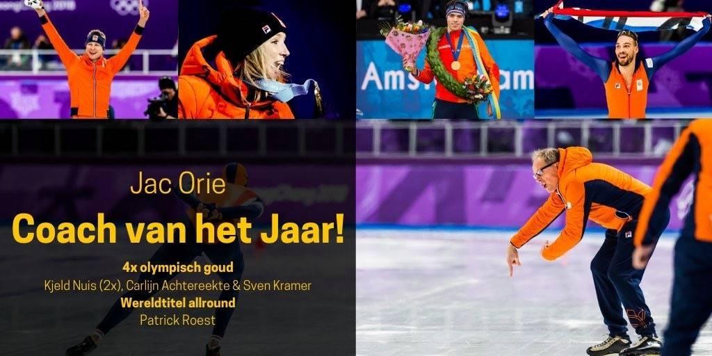 Jac Orie voor 3e keer gekozen tot Sportcoach van het Jaar!