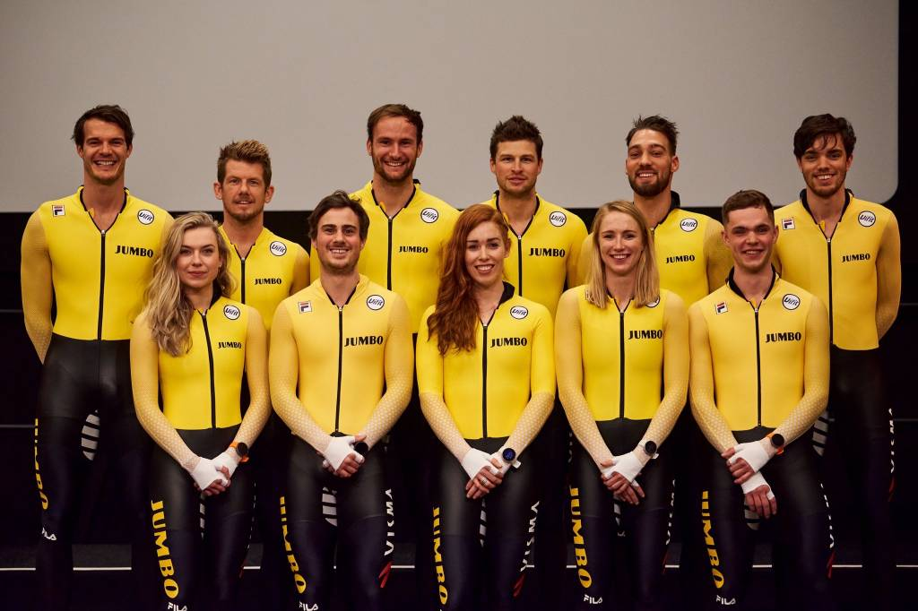Orise wordt Official Supplier van schaatsploeg Team Jumbo
