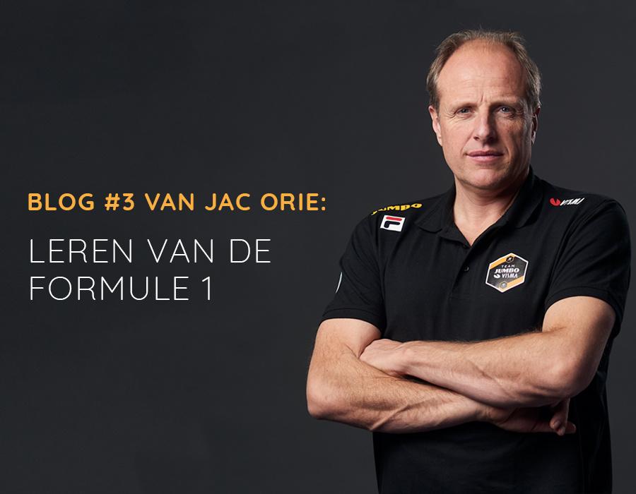 Blog Jac Orie: Leren van de Formule 1