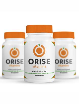 Orise Vitamins Allround Sport - Jaar Pakket