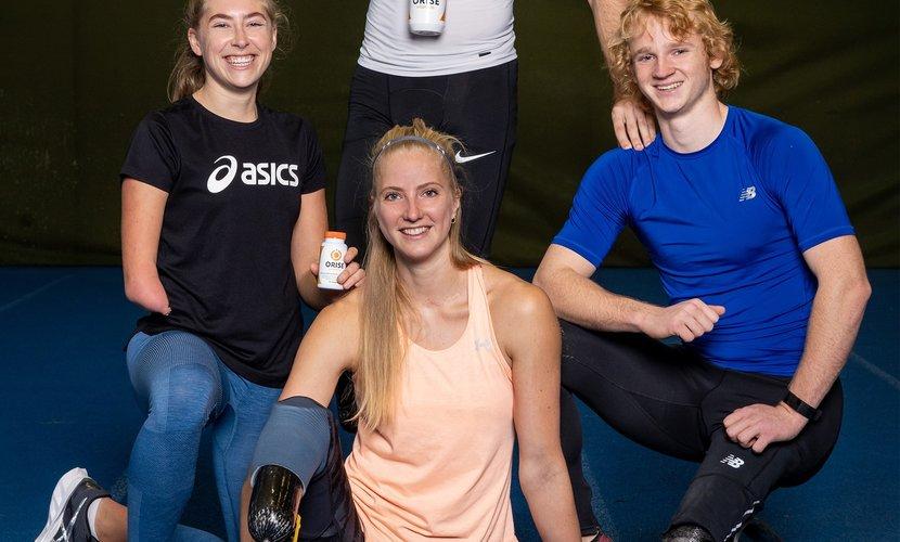 Orise Vitamins nieuwe partner van Team Para Atletiek op weg naar Tokio