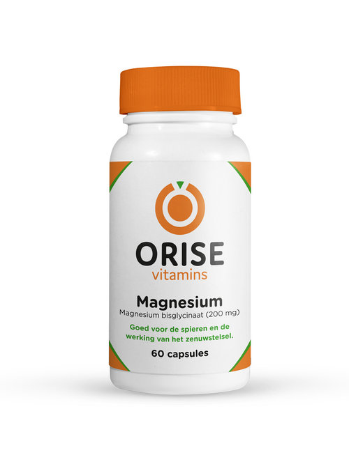 Orise Vitamins Magnesium bisglycinaat 200 mg