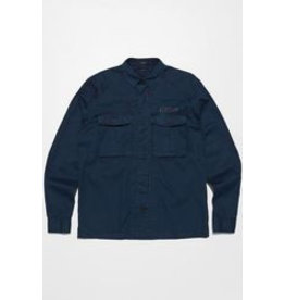 Denham Tank shirt worker blue