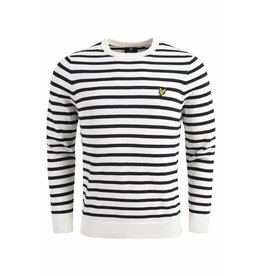 Lyle and scott breton stripe jumper