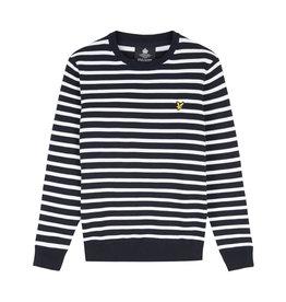 Lyle and scott Breton stripe knit