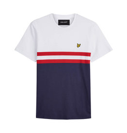 Lyle and scott Yoke stripe t-shirt