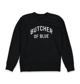 Butcher of Blue Peck line crew sweat l/s