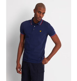 Lyle and scott tipped polo