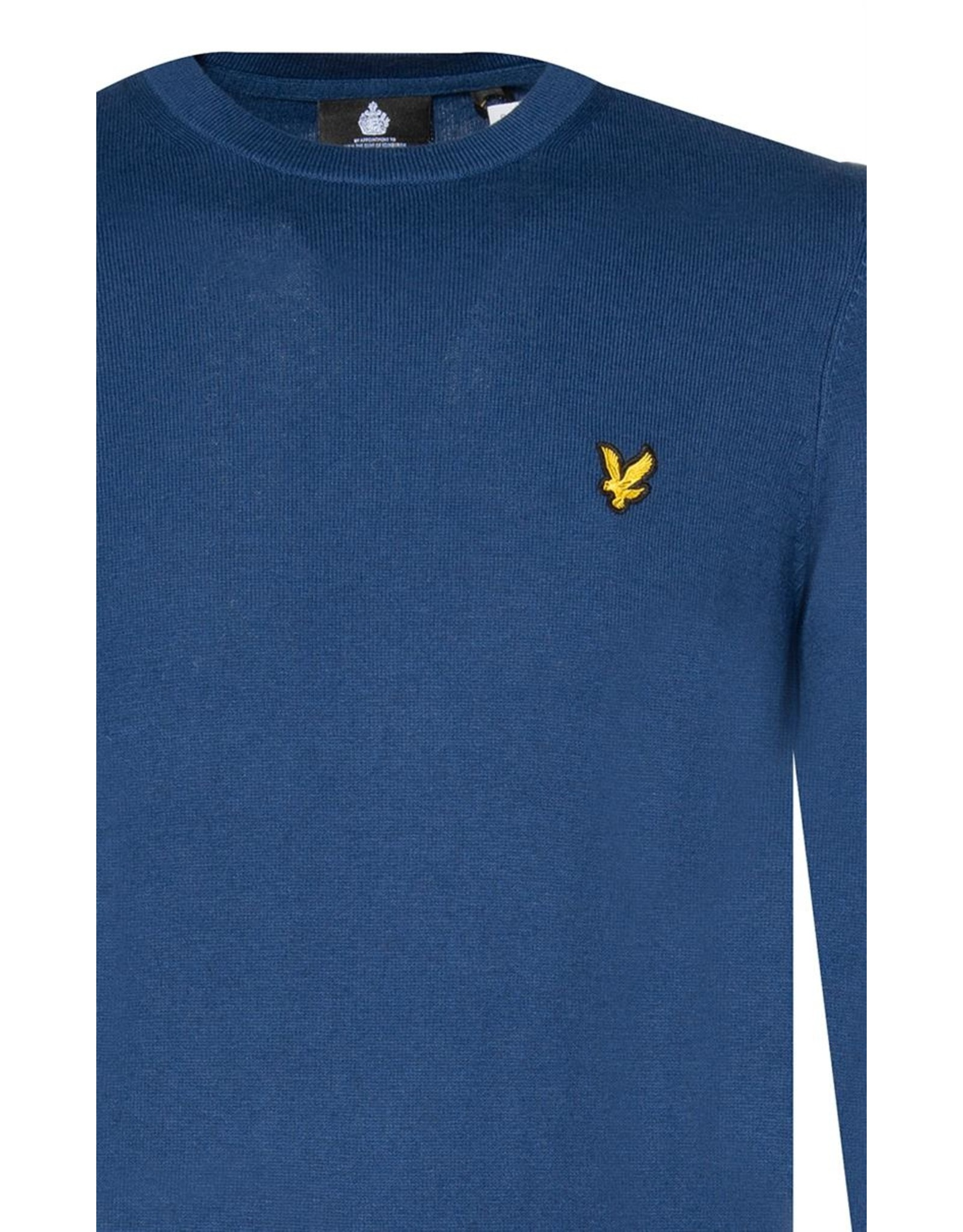 Lyle and scott cotton merino crew jumper