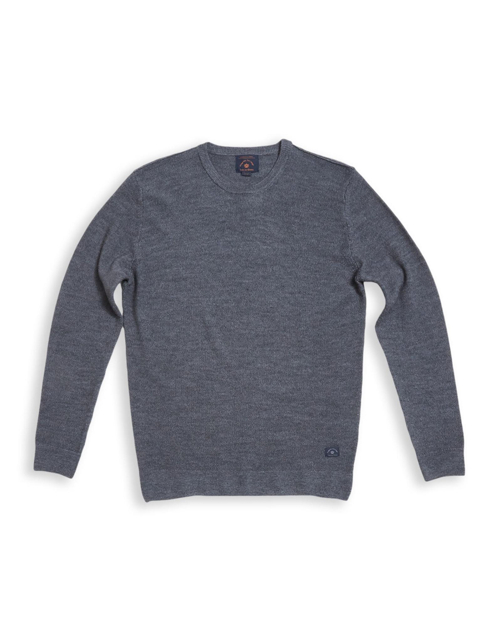 Blue de genes tondo knit