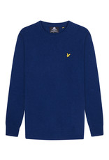 Lyle and scott crew neck lambswool blend jumper