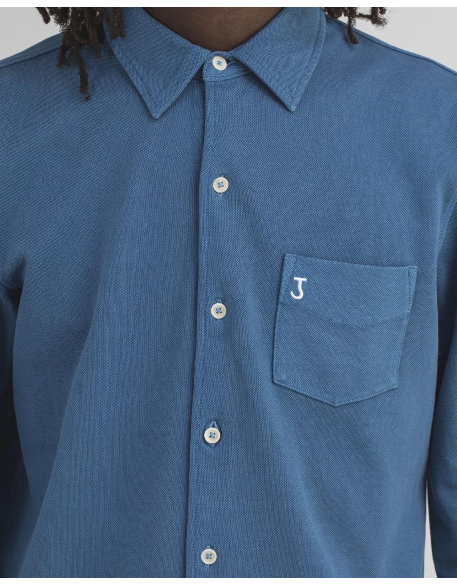 Butcher of Blue Merced pique shirt l/s