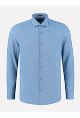 Dstrezzed Shirt cutaway collar melange pique