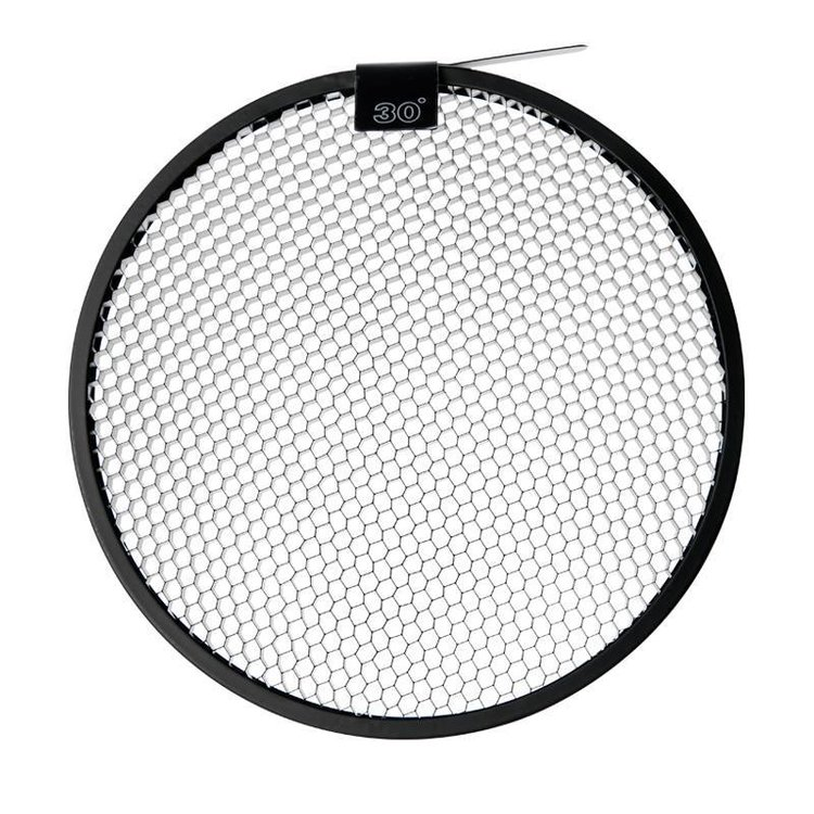 "30° Grid für 8.5"" High Output Reflector"