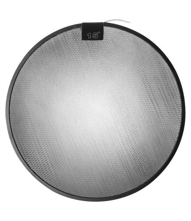 """Paul C. Buff 15° Grid für 11"""" Long Throw Reflektor"""