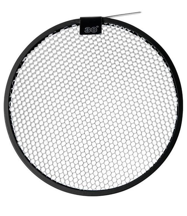 """Paul C. Buff 30° Grid für  11"""" Long Throw Reflector"""