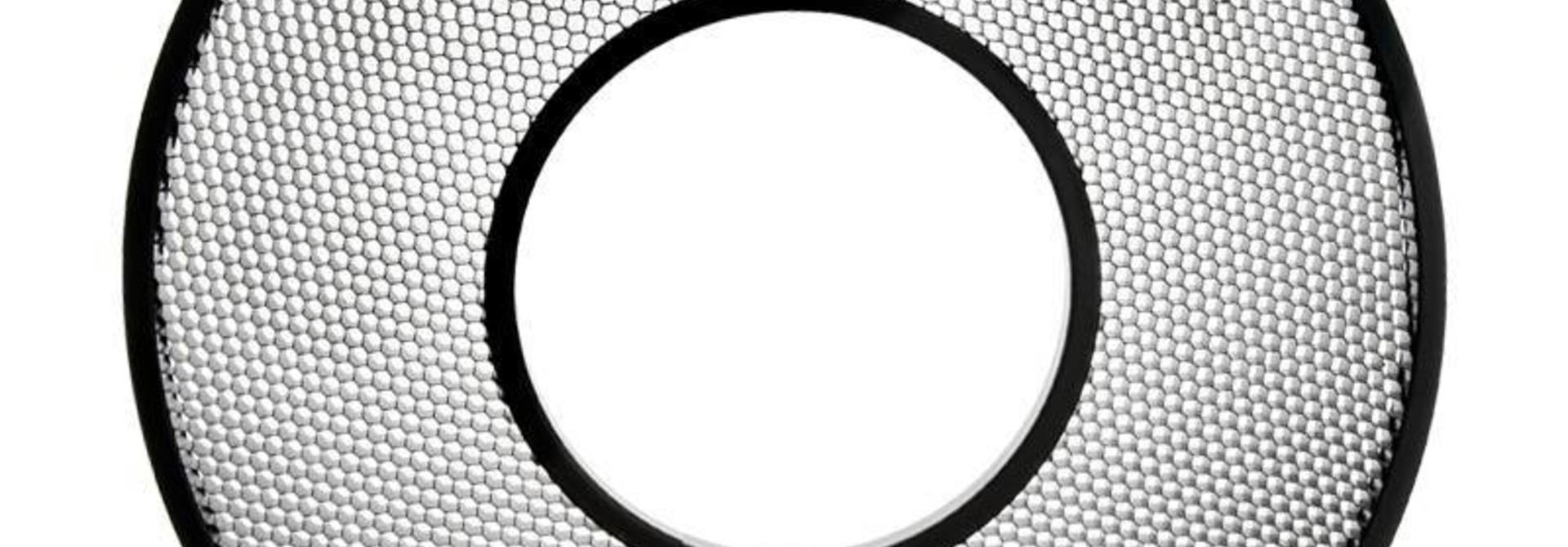 20° Grid AlienBees Ringflash Reflector