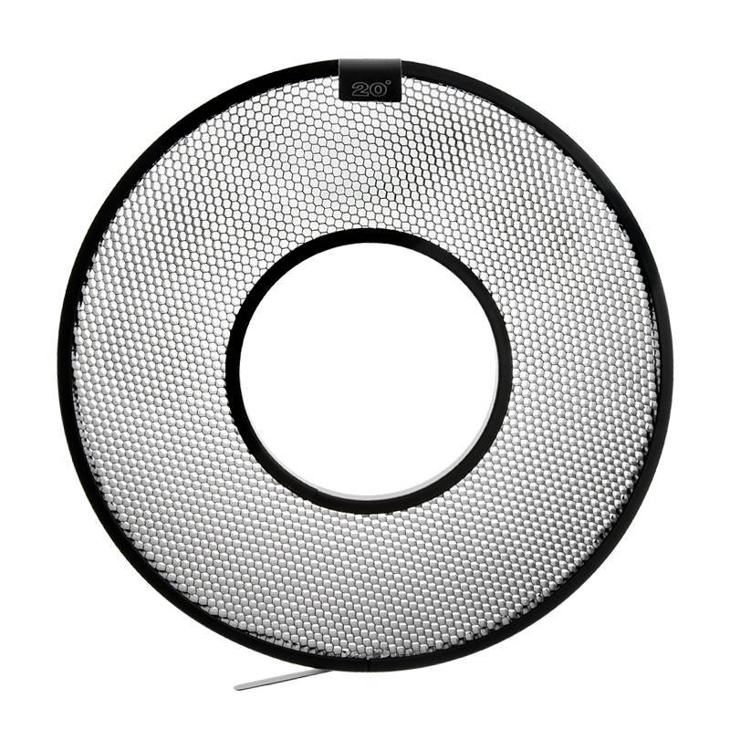 """20° Grid for 10"""" AlienBees Ringflash Reflector-1"""