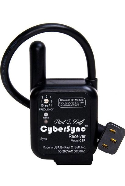 CyberSync AC Powered Receiver