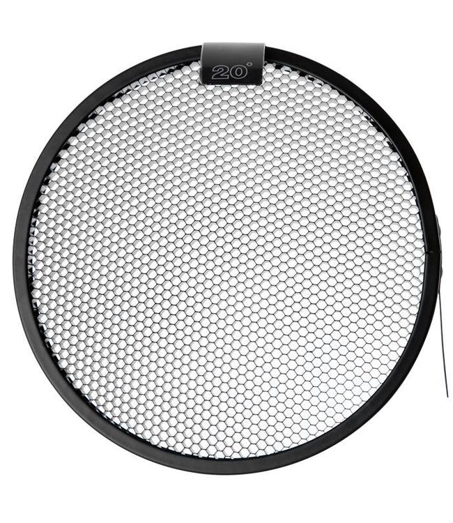 "Paul C. Buff 20° Grid voor 7"" Reflector"
