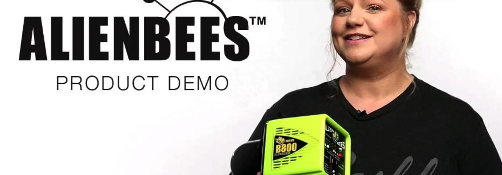 AlienBees Product Demo