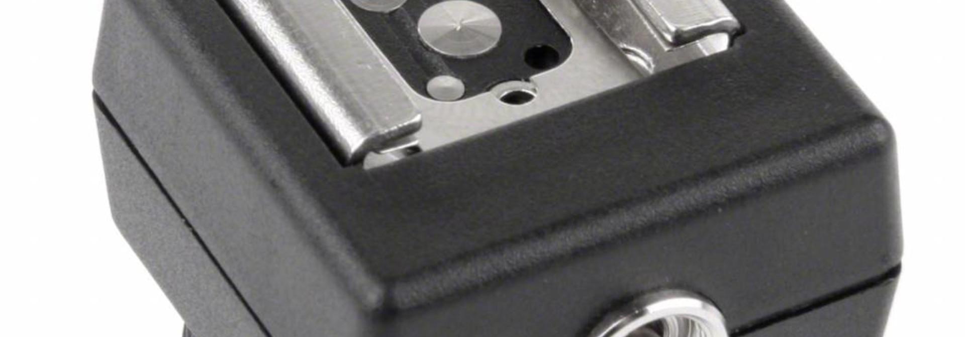 Blitzschuh für Canon mit E-TTL Funktion